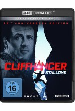 Cliffhanger / 25th Anniversary Edition / Uncut / 4K Ultra HD (+ Blu-ray 2D) Cover