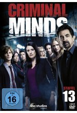 Criminal Minds - Die komplette dreizehnte Staffel   [5 DVDs] DVD-Cover