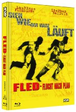 Fled - Flucht nach Plan - Mediabook - Limitierte Collecter's Edition auf 444 Stück  (+ DVD) - Cover A Blu-ray-Cover