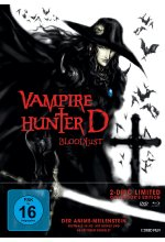 Vampire Hunter D: Bloodlust - Limited Collector's Edition  (+ DVD) Blu-ray-Cover