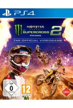 Monster Energy Supercross 2 - The official Videogame Cover