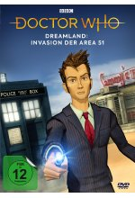 Doctor Who - Dreamland: Invasion der Area 51 DVD-Cover
