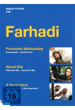 Asghar Farhadi - Box  [3 DVDs] (+ Booklet) DVD-Cover