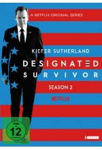 Designated Survivor - Staffel 2  [6 DVDs] DVD-Cover