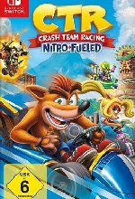 Crash Team Racing - Nitro-Fueled    <br> Cover