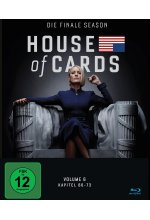 House of Cards - Die finale Season  [3 BRs] Blu-ray-Cover