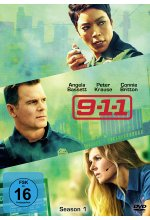 9-1-1 - Season 1  [3 DVDs] DVD-Cover