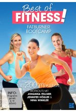 Best of Fitness - Fatburner Bootkamp - 3auf1 (Fellner, Winkler, Hößler) DVD-Cover