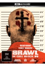 Brawl in Cell Block 99 (Uncut) - 2-Disc Limited Collector's Mediabook  (4K Ultra HD)  (+ Blu-ray) Cover