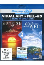 In 60 Minuten um die Welt/Sunrise - Visual Art in Full-HD - Special Edition Blu-ray 3D-Cover
