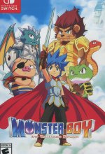 Monster Boy - And the Cursed Kingdom (PEGI) Cover