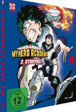 My Hero Academia - 2. Staffel - DVD 4 DVD-Cover