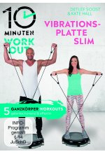 10 Minuten Workout - Vibrationsplatte Slim DVD-Cover