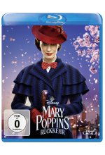 Mary Poppins Rückkehr Blu-ray-Cover