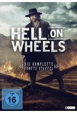 Hell on Wheels - Die komplette fünfte Staffel  [4 DVDs] DVD-Cover