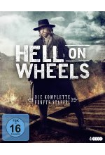 Hell on Wheels - Die komplette fünfte Staffel  [4 BRs] Blu-ray-Cover
