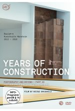 Years of Construction DVD-Cover