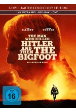 The Man Who Killed Hitler and Then The Bigfoot - 3-Disc Limited Collector's Edition im Mediabook (4K Ultra HD) (+ Blu-ra Cover
