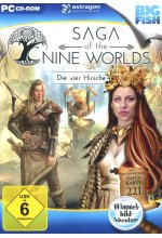 Saga of the Nine Worlds: Die vier Hirsche Cover