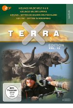 Terra X - Edition Vol. 12 <br>Kieling – Mitten in Südafrika - Kieling – Mitten im wilden Deutschland - Kielings wildes Afr DVD-Cover