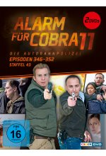 Alarm für Cobra 11 - Staffel 43  [2 DVDs] DVD-Cover