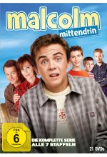 Malcolm mittendrin - Die komplette Serie (Staffel 1-7) [21 DVDs] DVD-Cover