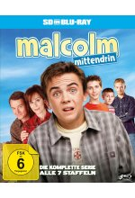 Malcolm mittendrin - Die komplette Serie (Staffel 1-7) (SD on Blu-ray) Blu-ray-Cover