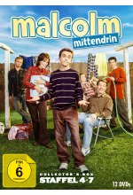 Malcolm mittendrin - Staffel 4-7  [12 DVDs] DVD-Cover