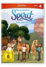 Spirit: Wild und frei - Staffel 1, Vol. 4 DVD-Cover
