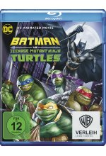 Batman/Teenage Mutant Ninja Turtles Blu-ray-Cover