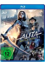 Alita - Battle Angel Blu-ray 3D-Cover