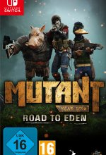 Mutant Year Zero - Road to Eden (Deluxe Edition) Cover