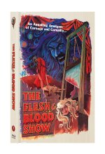 The Flesh & Blood Show (Pete Walker Collection Nr. 3) (2-Disc Mediabook Edition, Cover A, Limitiert auf 444 Stück) Blu-ray-Cover