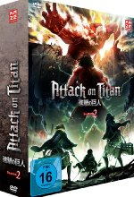 Attack on Titan - 2. Staffel - DVD 1 mit Sammelschuber (Limited Edition) DVD-Cover