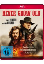 Never Grow Old Blu-ray-Cover