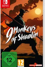 9 Monkeys of Shaolin Cover