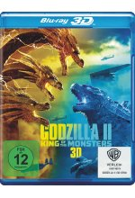 Godzilla II - King of the Monsters Blu-ray 3D-Cover