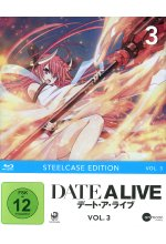 DATE A LIVE Vol.3 (Steelcase Edition) Blu-ray-Cover