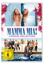 Mamma Mia! - 2-Movie Collection  [2 DVDs] DVD-Cover