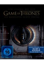 Game of Thrones - Staffel 8 - Limited Steelbook-Edition  (4K Ultra HD) Cover