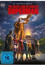 The Death and Return of Superman  [2 DVDs] DVD-Cover