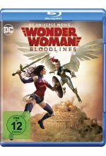 Wonder Woman - Bloodlines Blu-ray-Cover