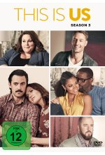 This is us - Season 3  [5 DVDs] DVD-Cover