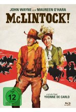 McLintock - 2-Disc Limited Collector's Edition im Mediabook (Blu-ray + DVD) Blu-ray-Cover