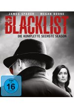 The Blacklist - Die komplette sechste Season  [6 BRs] Blu-ray-Cover
