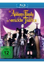 Die Addams Family in verrückter Tradition Blu-ray-Cover