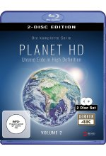Planet HD - Unsere Erde in High Definition - Vol. 2  [2 BRs] Blu-ray-Cover
