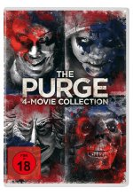 The Purge - 4-Movie-Collection  [4 DVDs] DVD-Cover