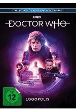Doctor Who - Vierter Doktor - Logopolis LTD. - Limitiertes Mediabook  [3 BRs] Blu-ray-Cover