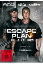 Escape Plan - The Extractors - Uncut DVD-Cover